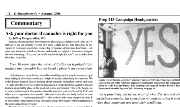 Ask Your Doctor if Cannabis is Right for You