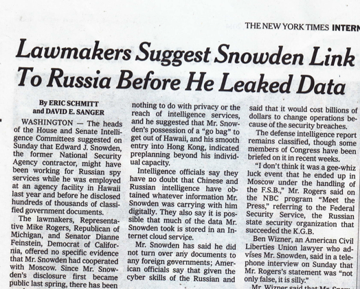 McCarthyism is Alive and Well in the NY Times