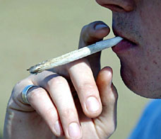 How efficient is smoking a joint?