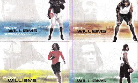 Ricky Williams Protests Drug Testing