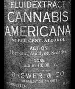 The Trouble With (Pre-Prohibition) Cannabis