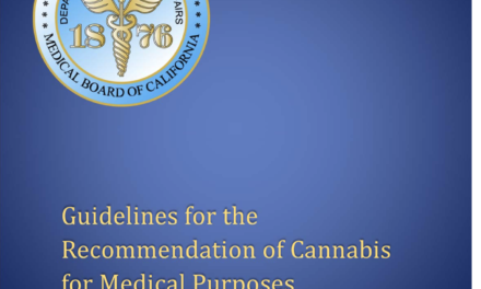 CA Med Board Revises Guidelines re Cannabis Approvals