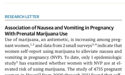 A warning to pregnant women in JAMA