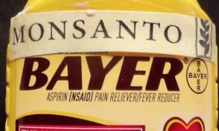 Will Bayer/Monsanto stop promoting aspirin?