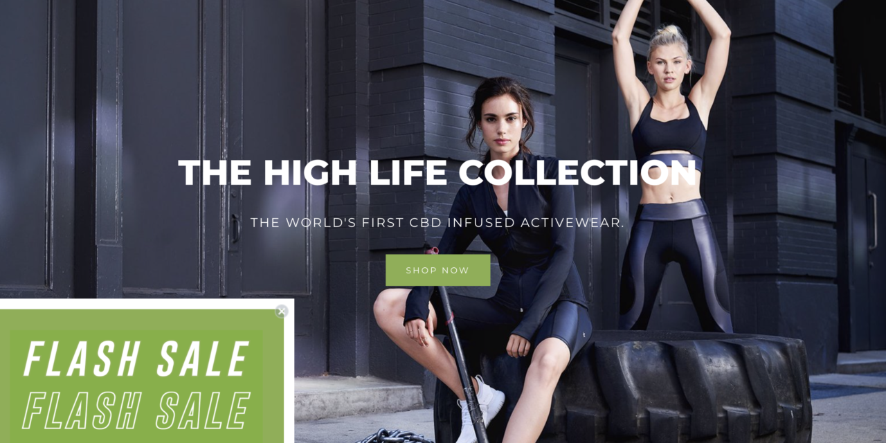 'Wear CBD for your workout routine'